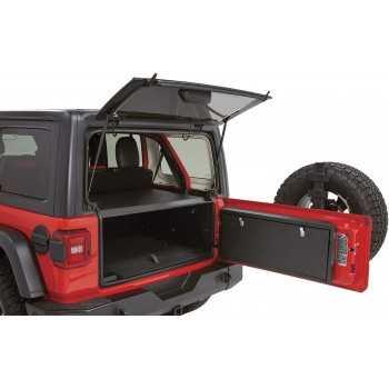 Coffre en acier Tuffy de porte arrière Jeep Wrangler JL 2018-
