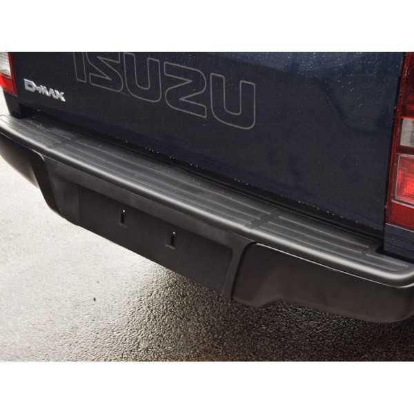Pare choc arrière noir Toyota Hilux Vigo 2005+