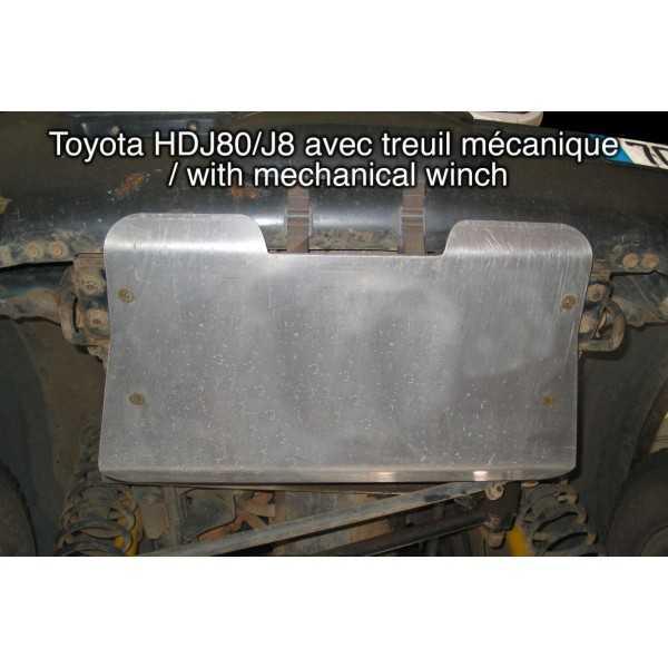 Blindage moteur aluminium TOYOTA HDJ 80 VX