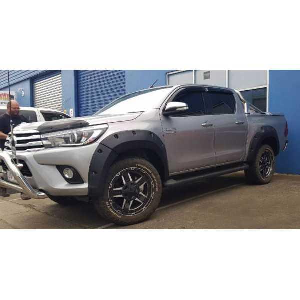Elargisseurs d'ailes Toyota Hilux Revo Xtracab 2019- 75 mm