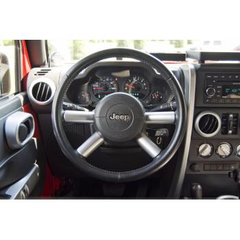 Kit enjoliveur de volant argent Jeep Wrangler JK 2007-2010