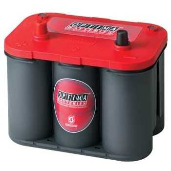 BATTERIE OPTIMA ROUGE 730A 12 VOLTS borne + à droite