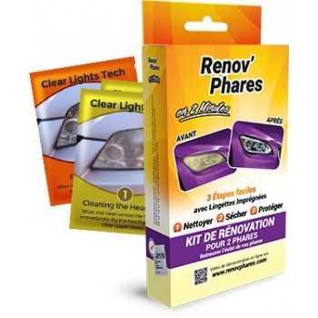 Kit Renov'phares pour le traitement de 2 phares