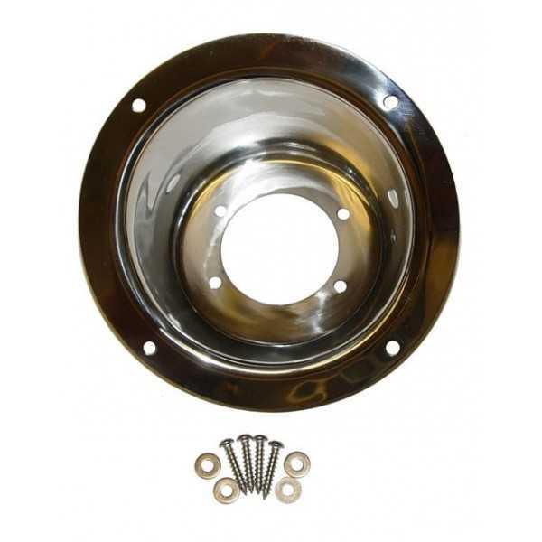 Enjoliveur de bouchon de reservoir acier inoxydable Jeep Wrangler TJ 97-06