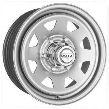 Jante acier DOTZ PHARAO grise 7X17 Nissan Navara D40 et NP300