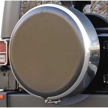 Couvre roue inox - 255-75R17 - 255-70R18 Jeep Wrangler JK