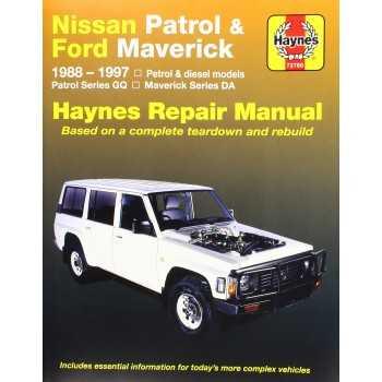 Revue automobile HAYNES Nissan Patrol GR Y60 (88-97)