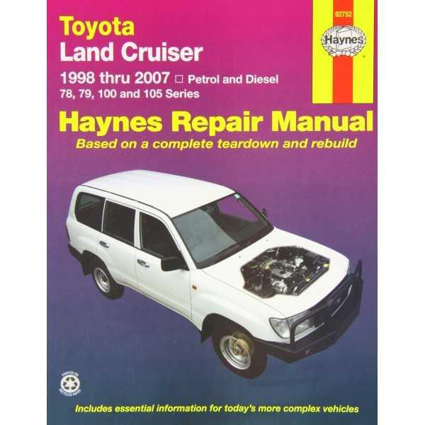 Revue automobile HAYNES Toyota HDJ 78/79/100/105 1998-2007