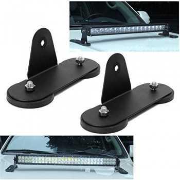 Support de fixation magnétique pour barre a LED