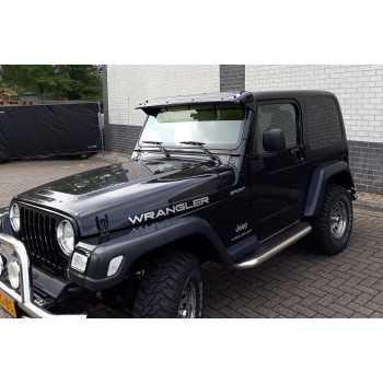 Visiere de pare brise Jeep Wrangler TJ 1997-2006