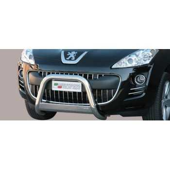 Medium bar inox 63 mm Peugeot 4007 2008- Homologué CE