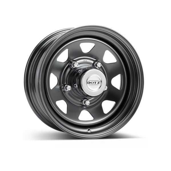 Jante acier DOTZ DAKAR DARK 7X16 Toyota Hilux Vigo-Isuzu D-Max