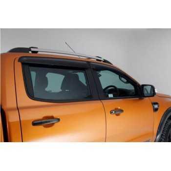 Deflecteur de porte avant et arriere Ford Ranger 2012+