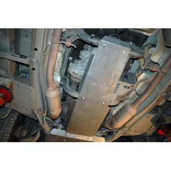 Blindage bv+bt aluminium Range Rover Sport 2002-2013