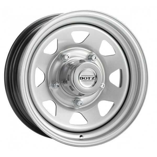 Jante acier DOTZ PHARAO grise 7X16 Land Rover-Range Rover classic