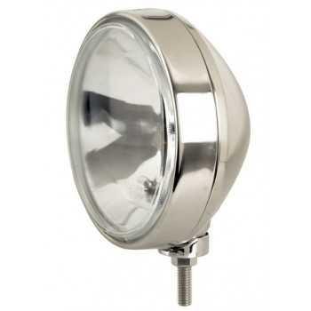 Phare rond inox predateur 211 mm 12 V H1