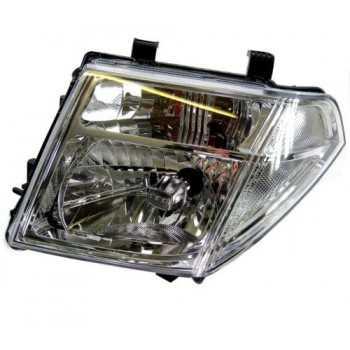 Optique de phare avant gauche H4 Nissan Navara D40 2005-2010