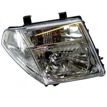 Optique de phare avant droit H4 Nissan Navara D40 2005-2010