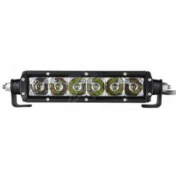 Rampe 6 LED DE 5W 30W 2400lm 6000K Long. 23 cm