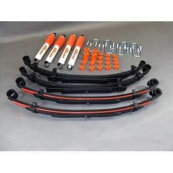 Kit suspension TRAIL MASTER confort 50 mm Suzuki Samurai SJ410 SJ413 (diesel) court