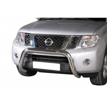 Super bar inox 76 mm Nissan Navara D40 2005-2010