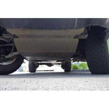 Blindage moteur aluminium Toyota KDJ 120/125 2002-2010
