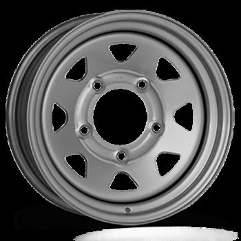 Jante acier DOTZ DAKAR grise 7X16 Ford Ranger 2012-2018