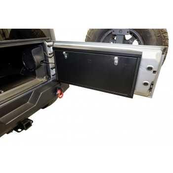 Boite de rangement sur porte arrière Jeep Wrangler JK 2007-2018