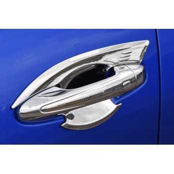 Inserts de poignées de porte chromées Toyota Hilux Revo 2016+