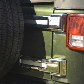 Enjoliveur de charnière de porte arrière Jeep Wrangler JK 07-18