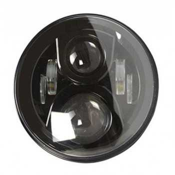 Optique de phare a LED sans vieilleuse fond noir Jeep-Toyota-Nissan-Land Rover-Mitsubishi