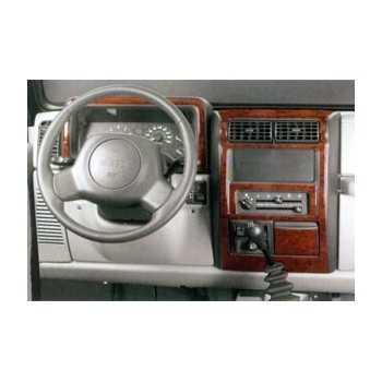 Placage bois Jeep Wrangler TJ 1996+
