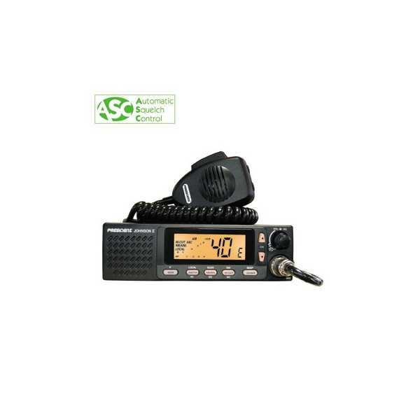POSTE CB JOHNSON II ASC 40 CX AM-FM Multi Normes