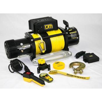 Treuil électrique TJM 4310kg avec corde synthétique