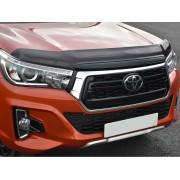 Deflecteur de capot teinté Toyota Hilux Invincible X 2018+