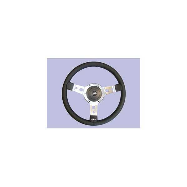 Volant cuir noir diamètre 36 cm Spécial LAND ROVER