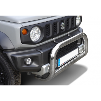 Big bar 76 mm inox Suzuki Jimny 07/2018-