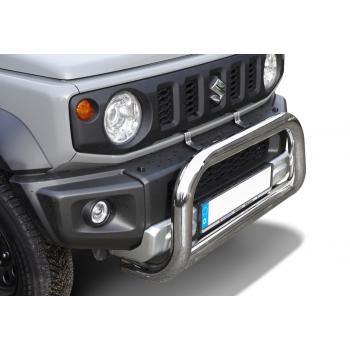 Big bar 76 mm inox Suzuki Jimny 07/2018-