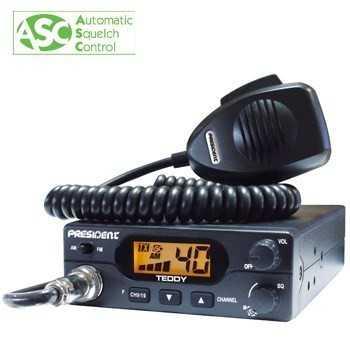 POSTE CB TEDDY ASC 40 AM-FM Multi Normes