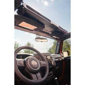 Console de stockage Jeep Wrangler YJ/TJ/JK 1987-2018