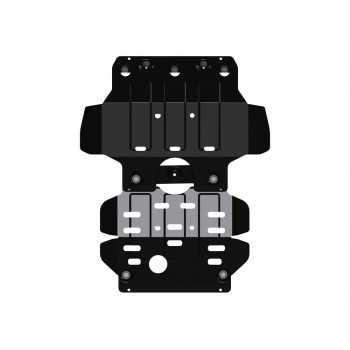 Blindage moteur acier Isuzu D-Max 07/2012-2020