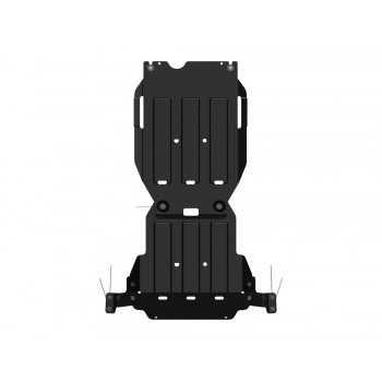 Blindage bv+bt aluminium Isuzu D-Max 07/2012-2020