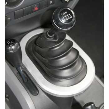 Garniture levier de vitesse boite manuel Jeep Wrangler JK 2007-2010