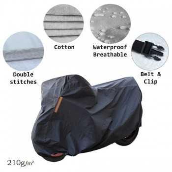 Housse de moto imperméable 210g PVC