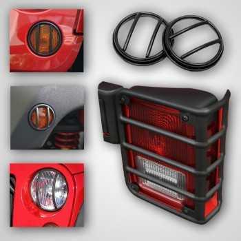 Kit de protection de feu Jeep Wrangler JK 2007-2018