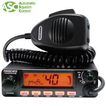 POSTE CB THOMAS ASC 40CX AM-FM MULTI NORMES