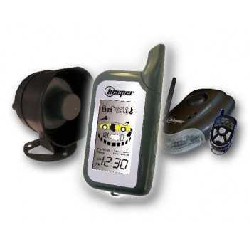 Alarme auto bidirectionnelle télécommande LCD