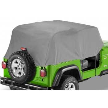 Couvre cabine Bestop® grise Jeep Wrangler YJ 1992-1995