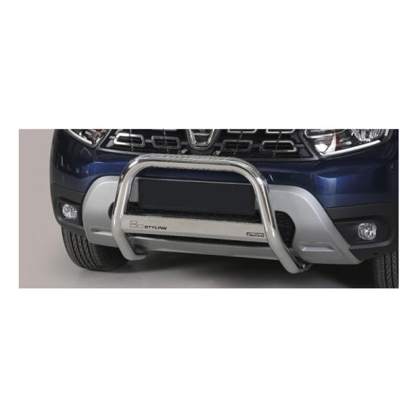 Médium bar inox 63 mm Dacia Duster 2018+