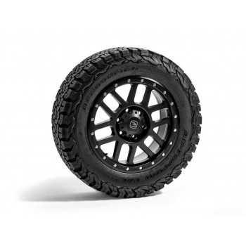 Hawke Dakar Alloy Wheels with BF Goodrich tyre